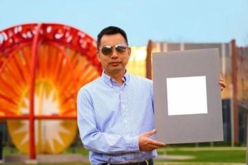 最白的白有多白能够反射高达98.1%的可见光