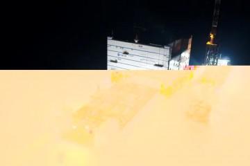 巨无霸海上换流站在江苏如东成功安装